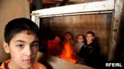 Thousands of displaced people in Azerbaijan live in makeshift accommodation