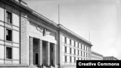 Будынак райхсканцылярыі ў Бэрліне, 1939.