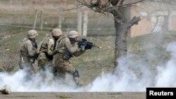Վրաստան - Վրաց - ամերիկյան զորավարժություններ Վազիանիի ռազմակայանում, արխիվ