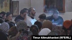 Панихида по погибшим в Ницце членам семьи Панченко. Павлодар, 22 июля 2016 года.