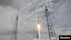 Запуск американской ракеты.