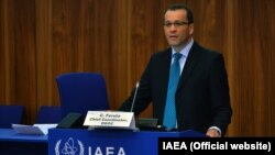 IAEA's new acting director-general Cornel Feruta (final photo)