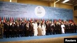 ԻՀԿ գագաթնաժողովի մասնակիցները, Թուրքիա, Ստամբուլ, 14-ը ապրիլի, 2016թ.