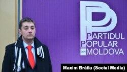 Maxim Brăila, candidatul Partidului Popular