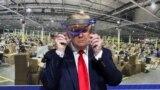 Președintele SUA, Donald Trump în vizită la Uzinele Ford