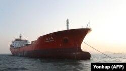 Перахоплены 29 сьнежня тайваньскі танкер, які спрабаваў даставіць нафту ў КНДР насуперак міжнародным санкцыям.