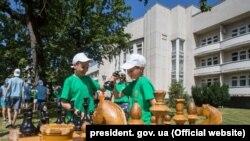 Міжнародний дитячий центр «Артек», відтворений на материковій частині України, червень 2016 року