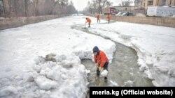 Бишкек. 30 января 2018 года.