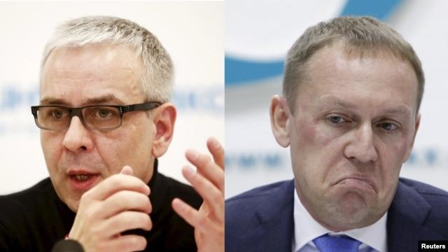 Russian citizens Dmitry Kovtun (left) and Andrei Lugovoi drank tea with Aleksandr Litvinenko (right) shortly before he fell ill.