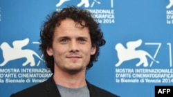 Russian Actor Anton Yelchin at the Venice Film Festival in 2014.