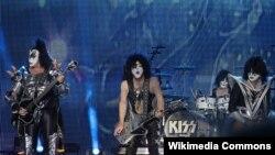 Амэрыканскі рок-гурт «Kiss» у 2013