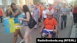 Марш голландских футбольных болельщиков в Харькове (Овчинников ©)