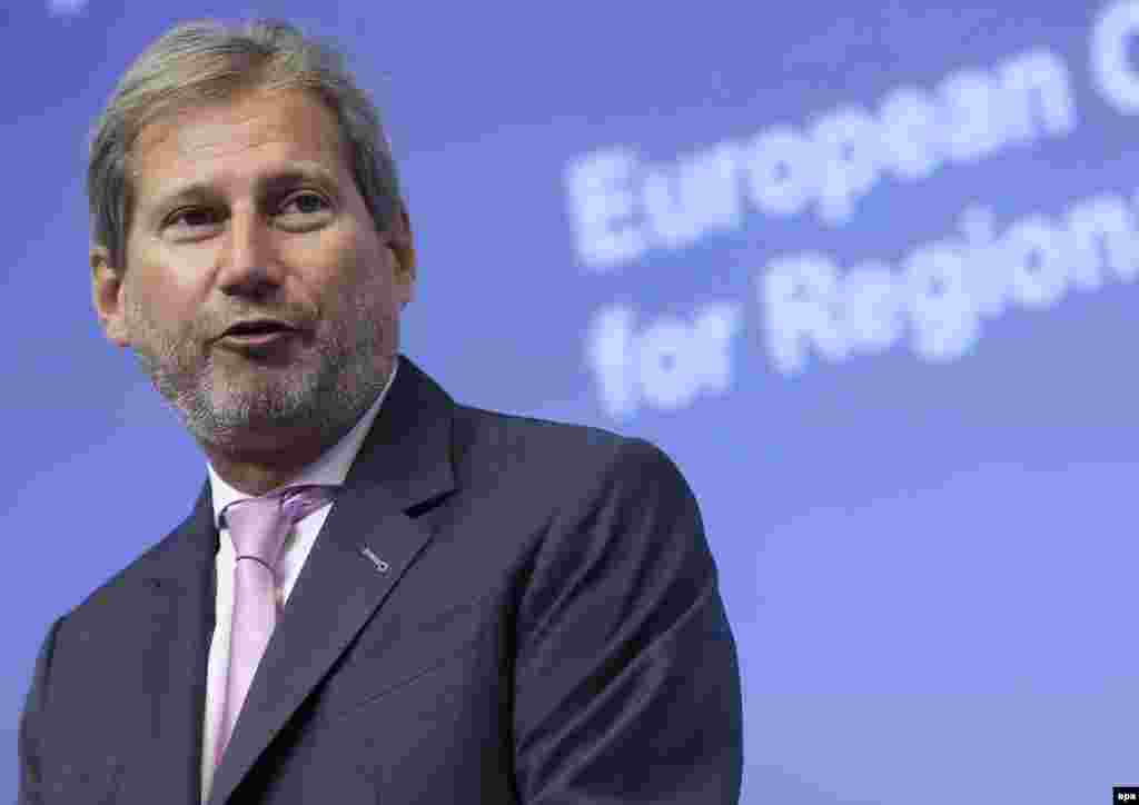 Johannes Hahn, Austria, EU neighborhood and enlargement negotiations: A low-key member of the previous commission, in which he was in charge of the EU's regional policy. With Juncker indicating that there won't be any enlargements during this five-year mandate, his job consists of keeping the thorny negotiations going. Accused of having plagiarized his Ph.D. thesis.