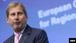 EU Neighborhood and Enlargement Negotiations Commissioner-designate Johannes Hahn