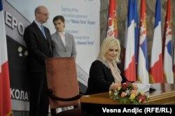 Zorana Mihajlović potpisala je ugovor o koncesiji u martu 2018.