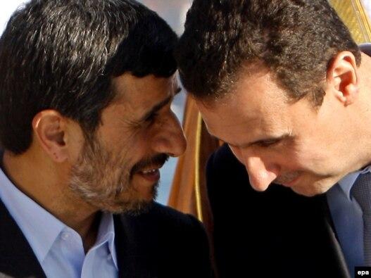 بشار اسد و  محمود احمدینژاد