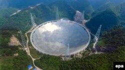 FAST дүйнөдөгү эң чоң радиотелескоп болуп калды.
