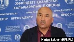 Кәсіподақ белсендісі Ерлан Балтабай. Алматы, 3 қазан 2019 жыл.