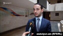 Էկոնոմիկայի փոխնախարար Ավագ Ավանեսյան