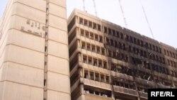 حريق في مبنى وزارة الصحة(الارشيف)