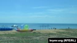 Пляж в Феодосии, 20 июня, 2014