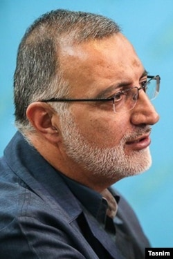 Iranian conservative MP, Alireza Zakani.