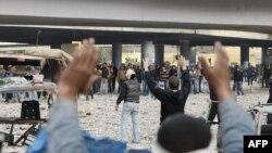 Каир, площадь Тахрир 3 февраля