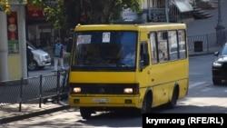 На улицах Севастополя все еще встречается БАЗ А079 «Эталон» производства Бориспольского автозавода