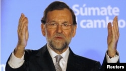 Mariano Rajoy's People's Party ousted the Socialists from power in elections in November.