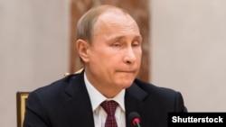 Президент Росії Володимир Путін. Мінськ, 11 лютого 2015 року