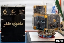 Iran attempted to launch a Zafar communications and mapping satellite (pictured here) into a low orbit around Earth on February 9.