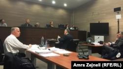 Drugi dan svedočenja Fahrudina Radončića, Priština