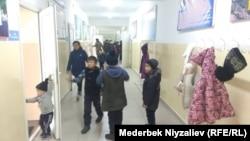Школа в Кок-Таше.