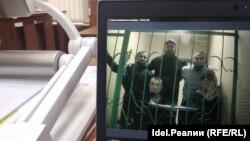 """""""Казан төркеме"""" фигурантлары белән видеоэлемтә"""