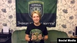 Волонтер-медик, начальник медичного батальйону «Госпітальєри» Яна Зінкевич