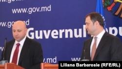 Nikolay Gueorguiev (IMF) și premierul Vlad Filat