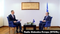 Premijer u razgovoru sa novinarom RSE: 'Svi kompromisi koje smo učinili završeni su17. februara 2008, Ahtisarijevim planom'