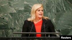 Kolinda Grabar Kitarović, predsednica Hrvatske