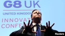 Британи -- саммитана хьошалла деш волу Британин премьер-министр Кэмерон Дэвид, 14Ман2013
