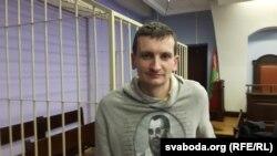 Андрусь Козел, сотрудники телеканала «Белсат», в суде.