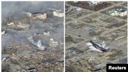 Rajoni Mijag i shte shkatërruar nga tërmeti dhe cunami i vitit të kaluar
