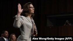 Джина Гаспел на слуханнях у Сенаті США щодо затвердження її кандидатури на посаді директора ЦРУ, Вашингтон, 9 травня 2018 року