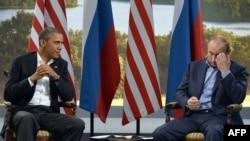 Путин менен Обама акыркы ирет Чоң сегиздин саммитинде жолуккан. 17-июнь, 2013-жыл.