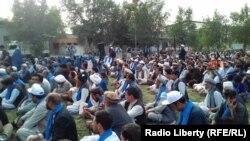 آرشیف، اعضای حرکت مردمی صلح در ولایت بلخ. 10 Aug 2018
