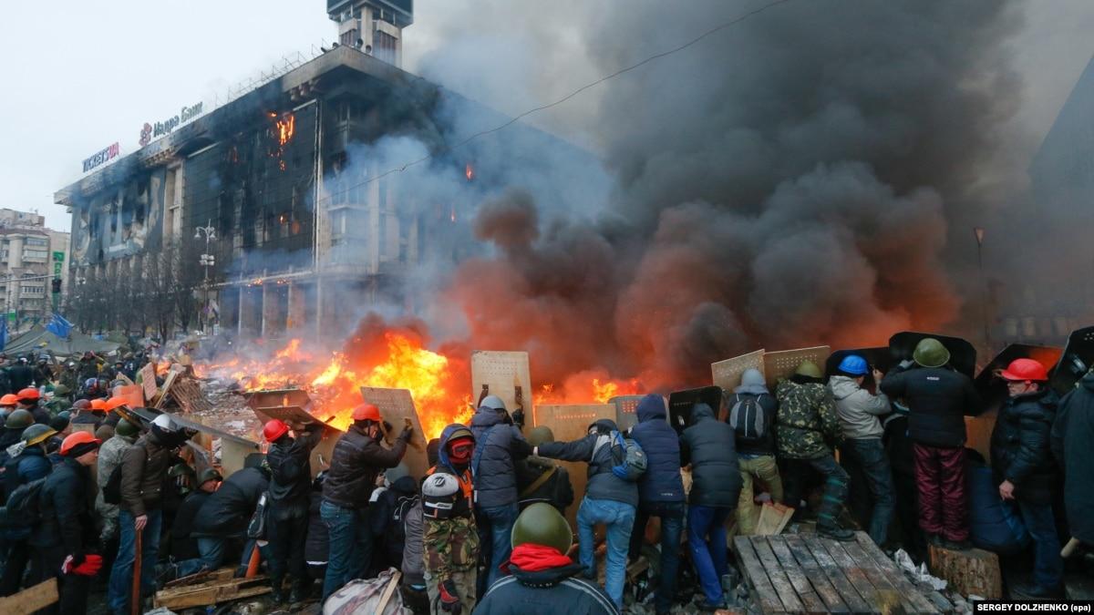 «Ирония – оружие слабых». Украина отмечает День Достоинства и Свободы