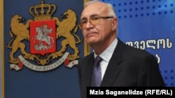 Georgia's special envoy on relations with Russia, Zurab Abashidze