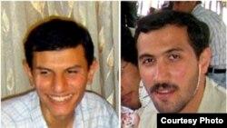 مهدی شیرزاد(راست) و حسین نعیمیپور از اعضای جبهه مشارکت.