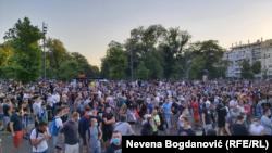 Протест во Белград
