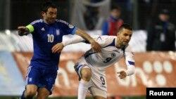 BiH: Atmosfera na dan utakmica BiH-Grčka i Hrvatska-Srbija, 22.3.2013.