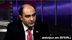 Armenia- MP Edmon Marukian is a guest at Azatutyun's News Center, 23 January 2015
